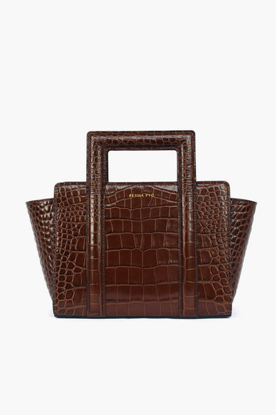 PRE ORDER /  Brown Madison Leather Tote