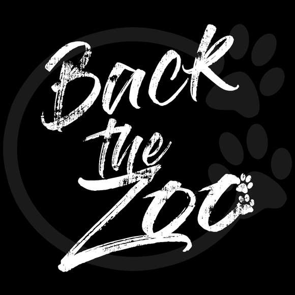 Back the Zoo Words Only