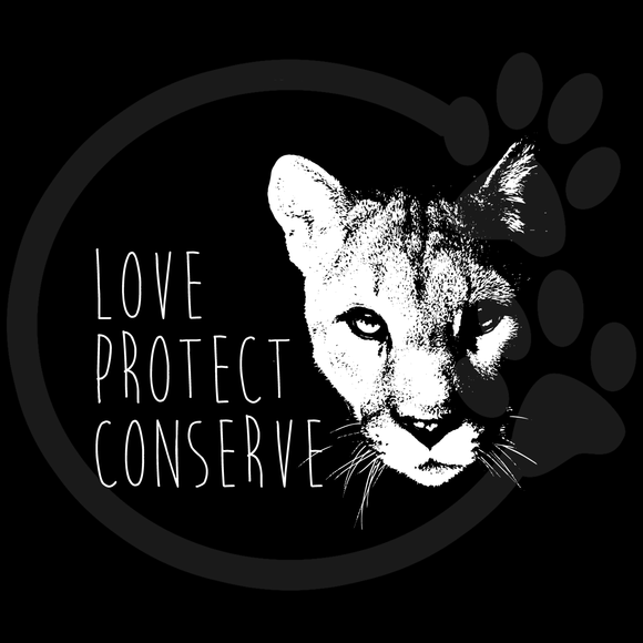 Cougar Love Protect Conserve
