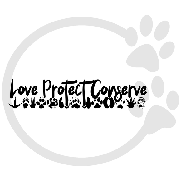 Love Protect Conserve Paws