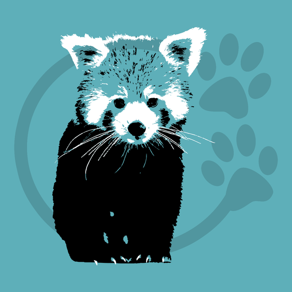 Red Panda (Two Color)