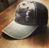 Tiger - Distressed Charcoal Trucker Hat - Animals Anonymous Apparel