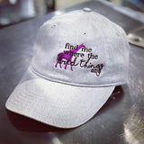 Giraffe - Wild Things Hat - Animals Anonymous Apparel