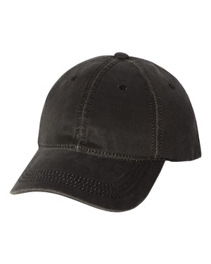 Gorilla Family Silhouette Distressed Charcoal Hat