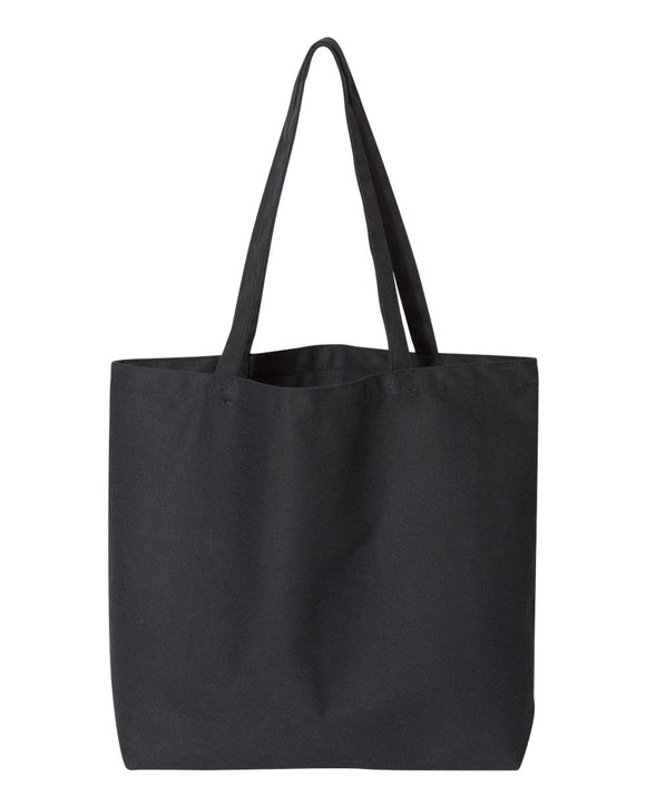 Screen Printed Large Canvas Tote - Choose a Print - Animals Anonymous Apparel