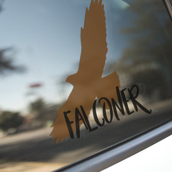 Falconer - Vinyl Decal - Animals Anonymous Apparel