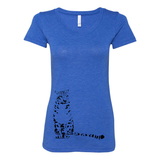 Snow Leopard - Women's Tee - Animals Anonymous Apparel