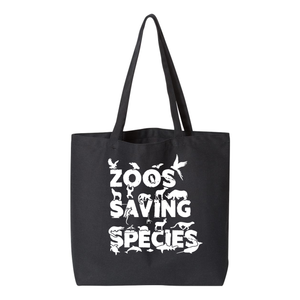 Zoos Saving Species - Large Tote - Animals Anonymous Apparel