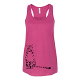 Snow Leopard - Flowy Tank - Animals Anonymous Apparel