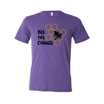 Bee the Change - Unisex Tee - Animals Anonymous Apparel
