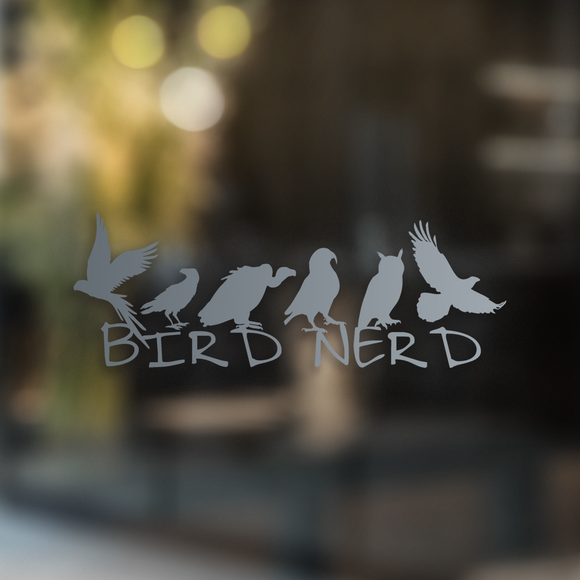 Bird Nerd - Decal - Animals Anonymous Apparel