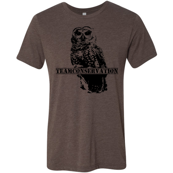 Mexican Spotted Owl Team Conservation - Unisex Tee - Animals Anonymous Apparel