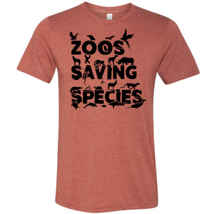 Zoos Saving Species - Unisex Tee