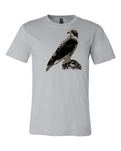 Fundraiser for River Valley Raptors, Inc - Red-Tailed Hawk Tee - Animals Anonymous Apparel