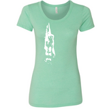 Gibbon - Women's Tee - Animals Anonymous Apparel
