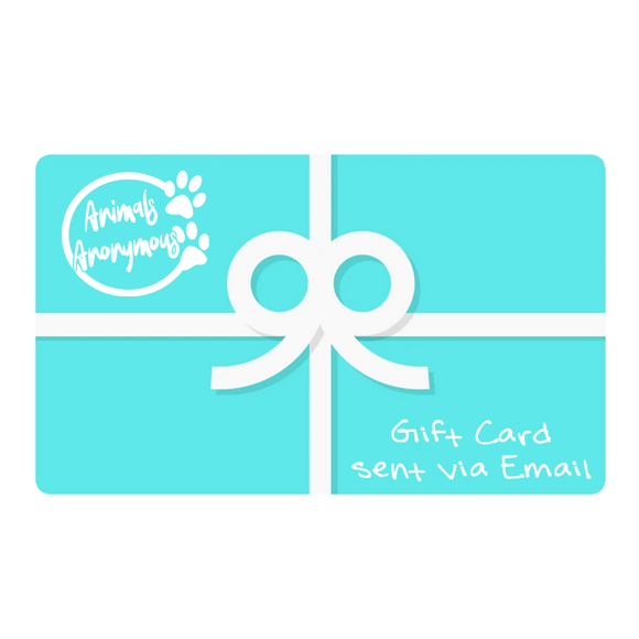 Animals Anonymous Gift Card - Animals Anonymous Apparel