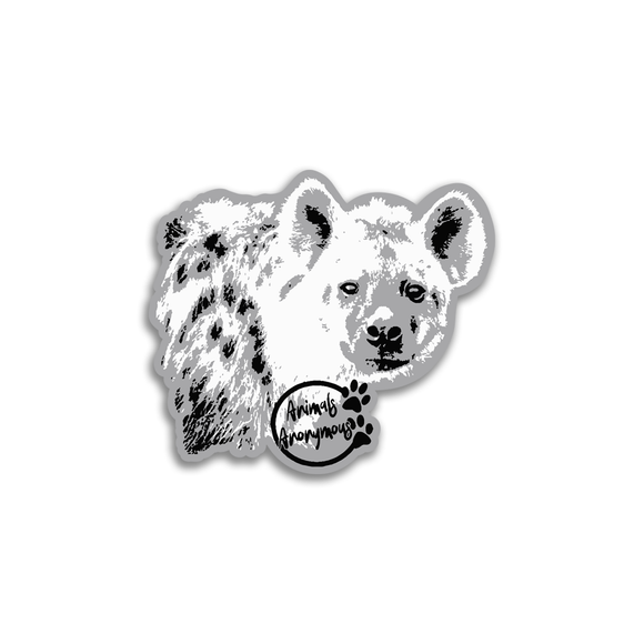 Hyena - Sticker - Animals Anonymous Apparel