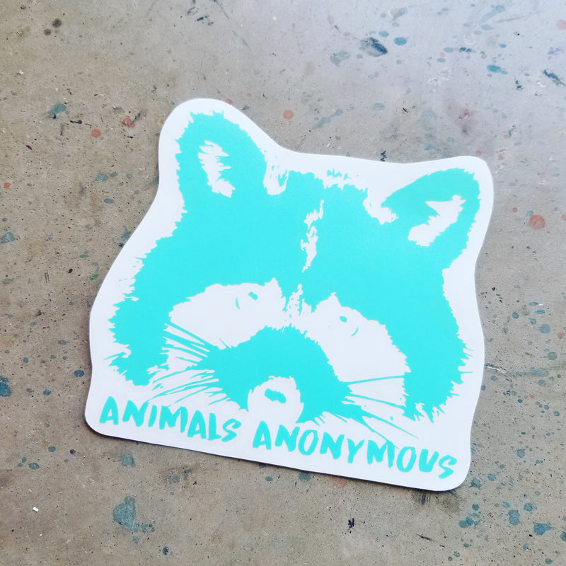 Raccoon - Vinyl Decal