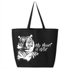 My Heart is Wild Tiger - Canvas Bag (2 Sizes)