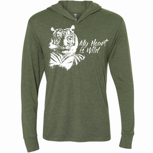 My Heart is Wild Tiger- Unisex Hoodie