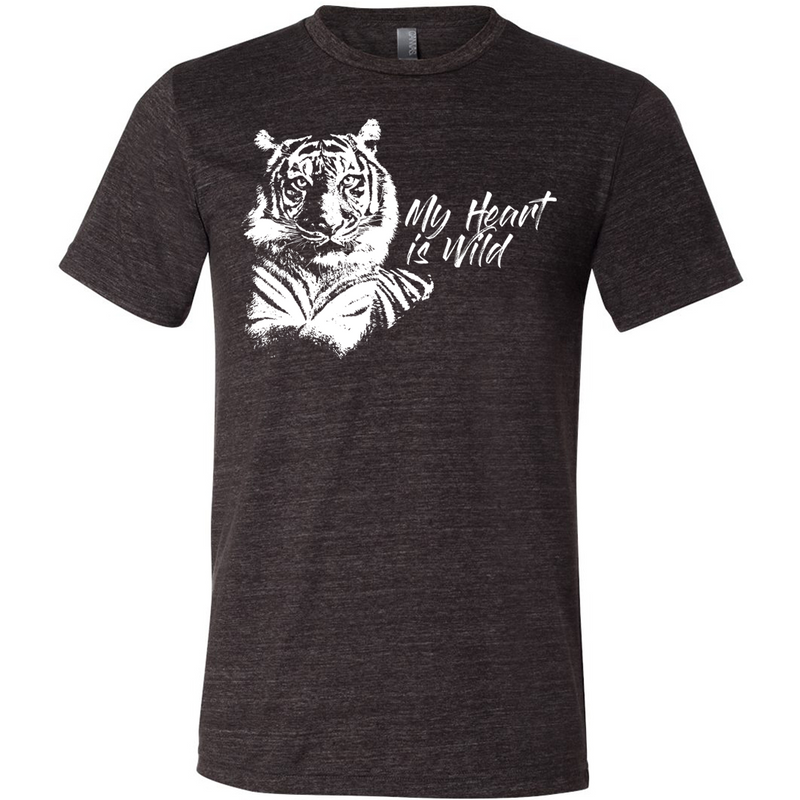 My Heart is Wild Tiger - Unisex Tee