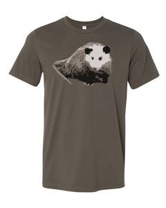 Fundraiser for Wildlife in Need Center - Opossum Tee (Ends 12.03) - Animals Anonymous Apparel