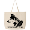 Red Wolf Team Conservation - Canvas Bags (2 Sizes)