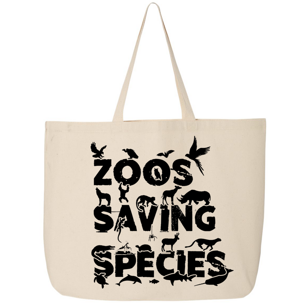Zoos Saving Species - Canvas Bags (2 Sizes)