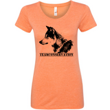 Red Wolf Team Conservation - Women's Tee - Animals Anonymous Apparel