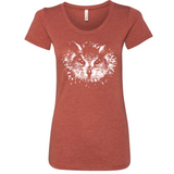 Owl Eyes - Women's Tee - Animals Anonymous Apparel