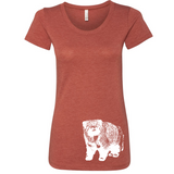 Pallas Cat - Women's Tee - Animals Anonymous Apparel