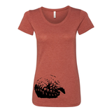 Pangolin - Women's Tee - Animals Anonymous Apparel
