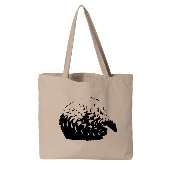 Pangolin - Large Tote - Animals Anonymous Apparel