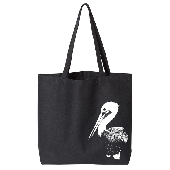 Pelican - Canvas Bag (2 Size Options) - Animals Anonymous Apparel