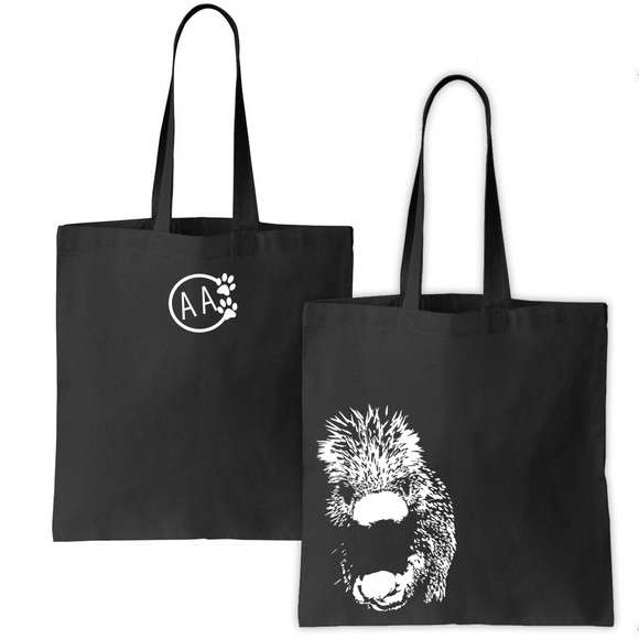Prehensile-tailed porcupine - Canvas Bag - Animals Anonymous Apparel