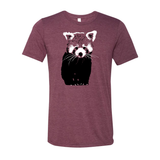 Red Panda (Two Color) - Unisex Tee - Animals Anonymous Apparel