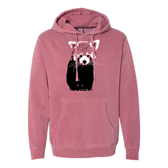 Red Panda (Two Color) - Unisex Hoodie - Animals Anonymous Apparel