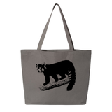Red Panda on a Branch - Large Tote - Animals Anonymous Apparel