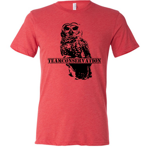 Mexican Spotted Owl Team Conservation - Unisex Tee