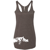 Sumatran Rhino - Women's Tank - Animals Anonymous Apparel