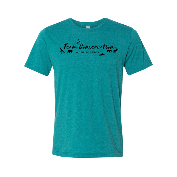 Team Conservation Wildlife Strong - Unisex Tee - Animals Anonymous Apparel