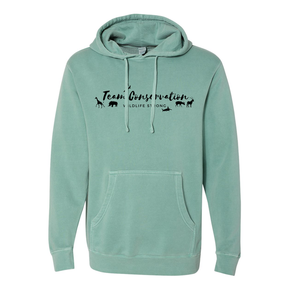 Team Conservation Wildlife Strong - Unisex Hoodie - Animals Anonymous Apparel