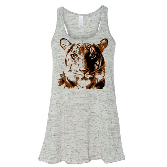 Tiger - Prusten Project - Flowy Tank - Animals Anonymous Apparel