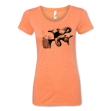 Two Elephants - Women's Tee - Animals Anonymous Apparel