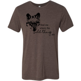 Wild Thing Wolf - Unisex Tee - Animals Anonymous Apparel