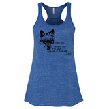 Wild Thing Wolf - Flowy Tank - Animals Anonymous Apparel