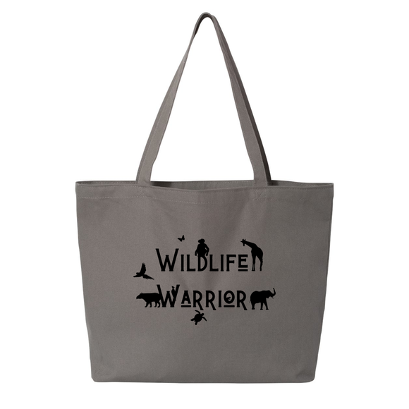 Wildlife Warrior - Large Tote - Animals Anonymous Apparel