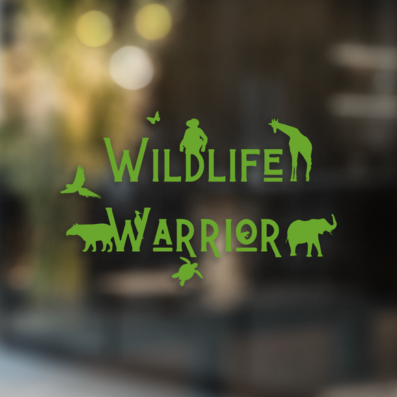 Wildlife Warrior - Decal - Animals Anonymous Apparel