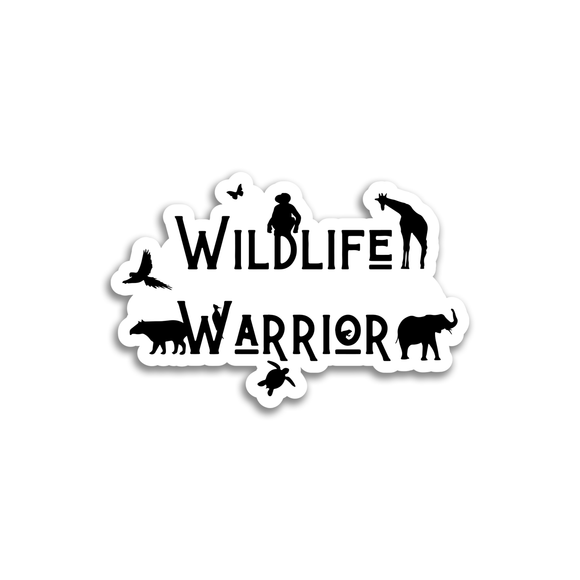 Wildlife Warrior - Sticker - Animals Anonymous Apparel