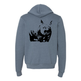 Wombat - Unisex Full-Zip Hoodie - Animals Anonymous Apparel